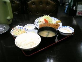 中華一番本店 とんかつ定食750円002
