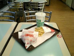 ドムドムハンバーガー てごねハンバーグサンドセット(てりやきソース)002