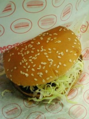 ドムドムハンバーガー てごねハンバーグサンドセット(てりやきソース)030