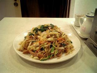 上海料理碧華楼上海焼きそば002