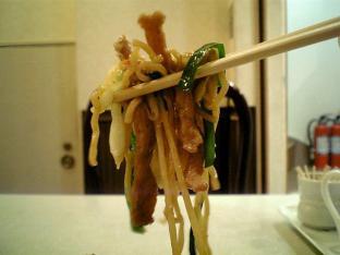 上海料理碧華楼上海焼きそば004