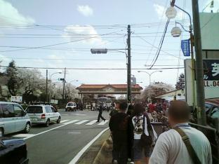 米海軍厚木航空施設)日米親善桜祭り2-4JUMBOセットメニューのホットドック001