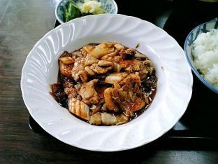 山田ホームレストラン本日の定食C豚キムチ003