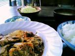 山田ホームレストラン本日の定食C豚キムチ004