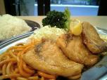 センターグリル新館 魚バター焼005