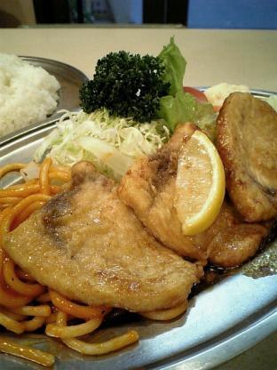 センターグリル新館 魚バター焼007