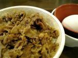 すき家牛丼ミニ玉子005