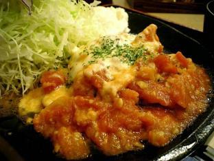 松乃家とまとチーズハンバーグ定食002