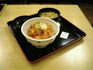 松乃家海老かき揚げ丼002