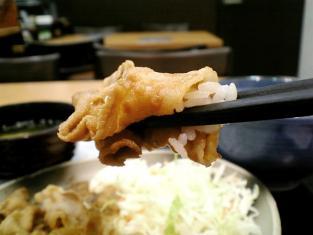 吉野家生姜焼定食004