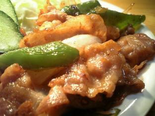 生姜焼き定食002