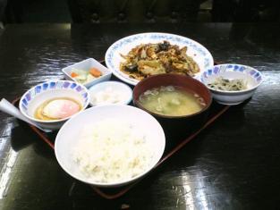 中華一番本店、回鍋肉+ライス小006