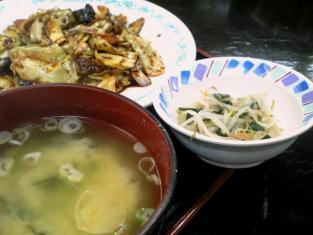 中華一番本店、回鍋肉+ライス小007