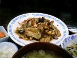 中華一番本店、回鍋肉+ライス小010