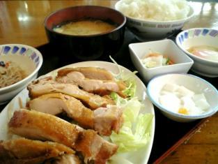 中華一番本店、油淋鶏(ユーリンジー)002
