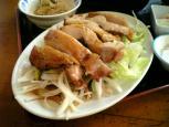 中華一番本店、油淋鶏(ユーリンジー)004