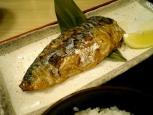 松乃家、鯖塩焼き定食004