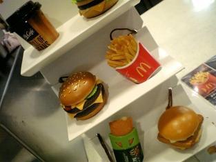 マクドナルド、ハンバーガー001
