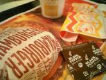 マクドナルド、ハンバーガー005