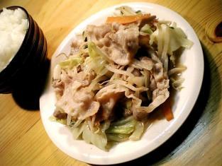 肉野菜炒め001