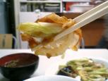 中華料理鶴廣でネギ肉イタメとライス010
