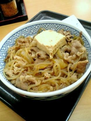 吉野家 牛鍋丼003