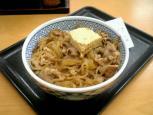 吉野家 牛鍋丼006