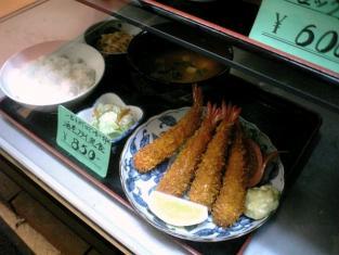 和食御食事処いちばん海老フライ定食003