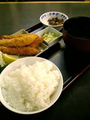 和食御食事処いちばん海老フライ定食004