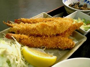 和食御食事処いちばん海老フライ定食005