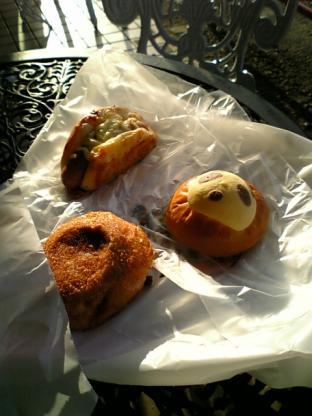 こむぎのもりブンブンの各種パン005