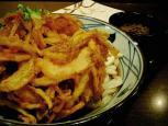 釜揚げうどん 丸亀製麺でぶっかけうどん(大)006
