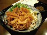 釜揚げうどん 丸亀製麺でぶっかけうどん(大)007