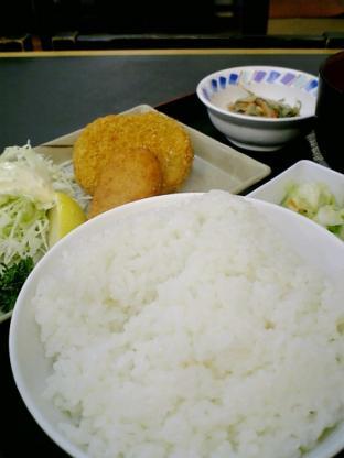 和食いちばんコロッケ定食002