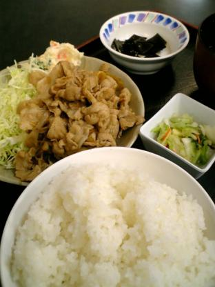 和食いちばん生姜焼き定食002