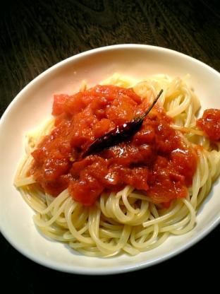 スパゲッティアラビアータ001