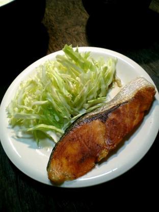 クックパーフライパン用ホイルで焼き鮭001
