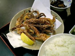和食いちばんでいかげそ唐揚げ+定食セット 2