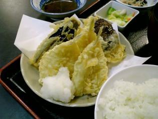 和食いちばんでキス野菜天定食3