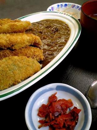 和食いちばんでミックスフライ カレー1