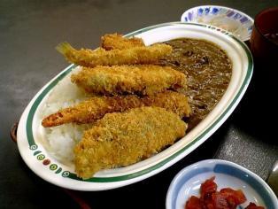 和食いちばんでミックスフライ カレー2