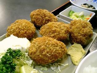 和食いちばんでカキフライ定食3