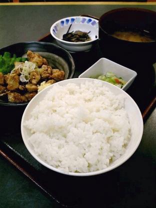 和食いちばんでまぐろ竜田揚+定食セット 1