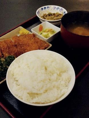 和食いちばんでとんかつ定食2