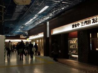 上野駅構内ecute Ueno(エキュートうえの)の洋食や三代目たいめいけんでハヤシライス1