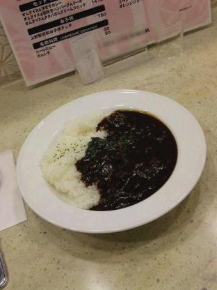 上野駅構内ecute Ueno(エキュートうえの)の洋食や三代目たいめいけんでハヤシライス2