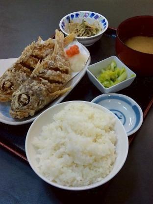 和食いちばんかさご唐揚げと定食セット2