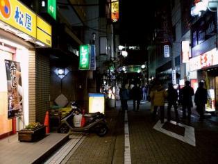 松屋大和店で松屋角切りステーキ定食690円。(大盛、特盛無料サービス時)1