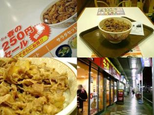 すき家春の(2011年)牛丼(並)250円3