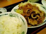 日高屋生姜焼き定食020